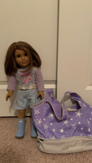 American Girl Doll + Tote for Sale in New Albany, OH