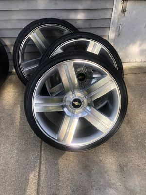 26 inch Texas edition rims 6 lugs for Sale in Melrose Park, IL