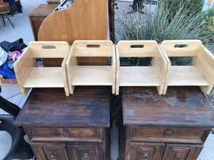 All Wood Booster Seats!!! for Sale in Queen Creek, AZ