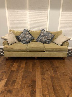 Craftmaster sofa and half chair for Sale in Orangeburg, SC