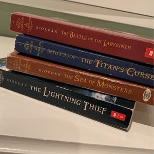 Percy Jackson And the Olympians Books 1-4 for Sale in Whittier, CA