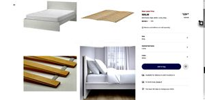IKEA Bed White Frame for Sale in Irvine, CA