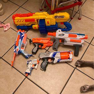 Nerf Gun 6 Pack for Sale in Redlands, CA