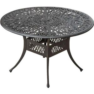 Metal Aluminum Round Dining Table Brand New! Factory direct! $199 instead of $600! Outdoor Patio Furniture for Sale in Ontario, CA