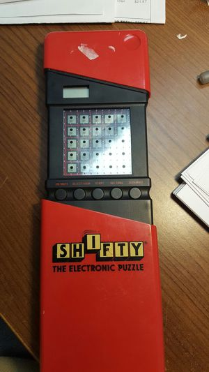 Electronic Vintage Puzzle ..SHIFTY..by Tiger electonics for Sale in Indianapolis, IN