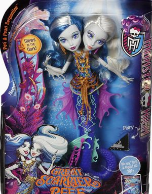 NEW Monster High Great Scarrier Reef (2) Headed Doll $12 Together, the Monster High ghouls will dive into adventure and learn some new lessons. for Sale in Eagle Lake, FL