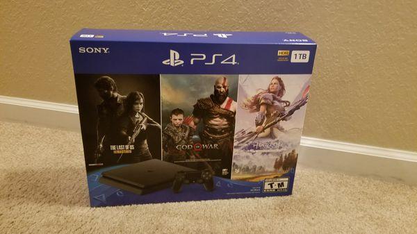 Sony PlayStation 4 1TB Console Bundle, Black