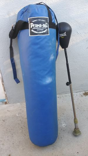 Punching bag and speed for Sale in Los Angeles, CA