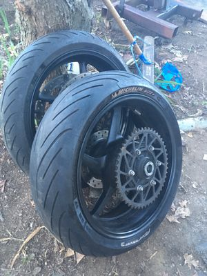 Motorcycle wheels an tires for Sale in La Vergne, TN