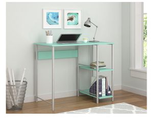 Teal Small Basic Student Desk for Sale in Houston, TX