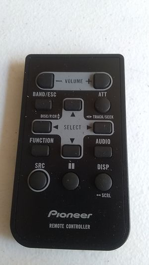 Pioneer QXA3303 Remote Control for Car Radio Receiver CD Player for Sale in Los Angeles, CA