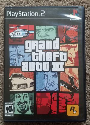 Grand theft auto 3 ps2 game for Sale in Tuscola, TX