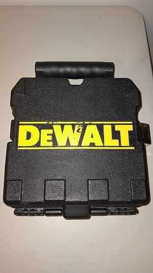 Dewalt cross line /plumb slot combinations lazer for Sale in San Jose, CA