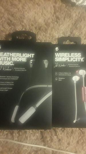 2 Skullcandy wireless earbuds for Sale in San Diego, CA