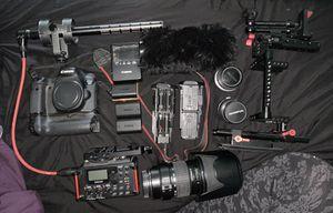 Canon 6D and filmmaking equipment for Sale in Pico Rivera, CA