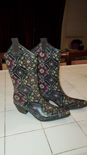 Nomad Yippee Rain Boots, ($67 retail) for Sale in Arboga, CA