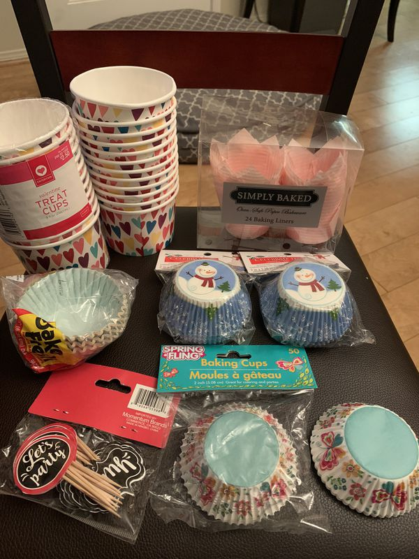 Baking Liners, Treat Cups, Picks