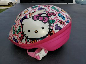 Toddler Hello Kitty helmet for Sale in Norwalk, CA