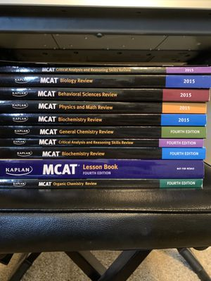 MCAT books for Sale in Johnson City, TN
