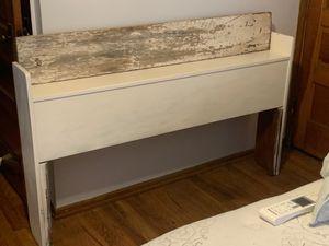 Vintage rustic headboard for Sale in Bridgeville, PA