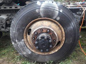 Used tire rim Volvo semi truck. for Sale in Covington, WA
