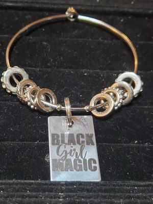 Black Girl Magic Bangle for Sale in Smoke Rise, GA