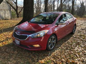 Kia Forte 2014 EX title clean CARFAX as well 👆Miles almost 2000 fully loaded Kia yes it's fully loaded here we Go , leather seat , power seat , heate for Sale in Columbus, OH