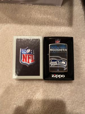 Genuine Zippo Lighter NFL SEAHAWKS for Sale in Beaverton, OR