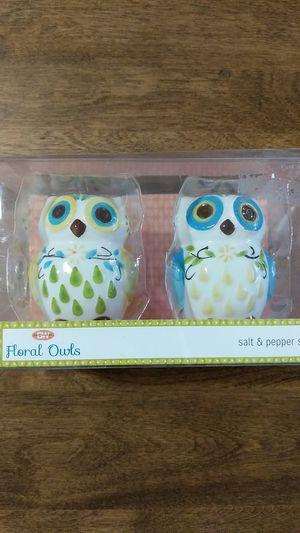 Owl Salt and Pepper Set home decor for Sale in Mesa, AZ