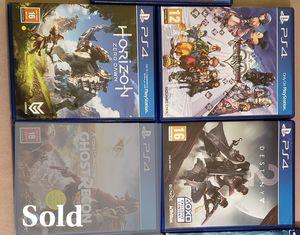 vedio game PS4 for Sale in Arlington, VA