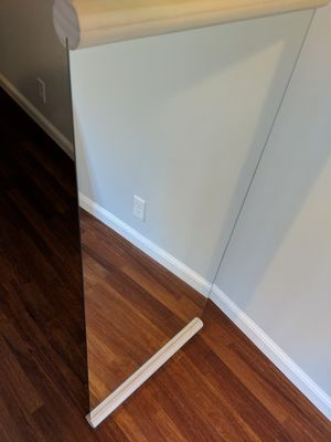 Wall Mounted Wood Frame Mirror for Sale in San Francisco, CA