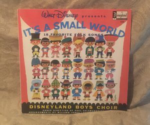 Walt Disney It's A Small World Vinyl LP Album for Sale in Barrington, IL