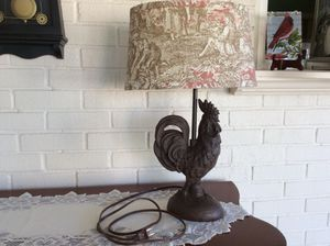 ROOSTER LAMP for Sale in Southgate, MI