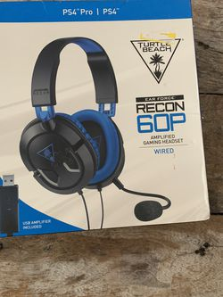 Turtle Beach Recon 60P Earforce Wired PS4 for Sale in Boca Raton,  FL
