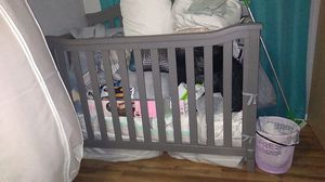 Baby crib and mattress for Sale in Sheridan, CO