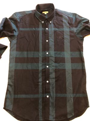 Burberry men's shirt size L for Sale in Whittier, CA