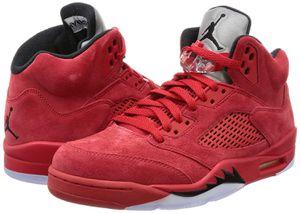 Air jordan 5 red suede for Sale in Sterling, VA