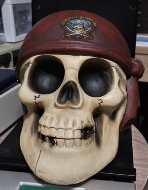 Pirates of the Caribbean Skull for Sale in Charlotte, NC