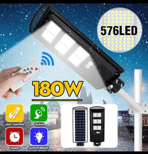 Solar street light 576 LED (with remote control) for Sale in Rialto, CA