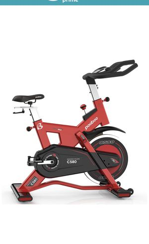 pooboo Indoor Cycling Bike Trainer, Professional Exercise Bike Stationary Bike(C580) for Sale in Monterey Park, CA