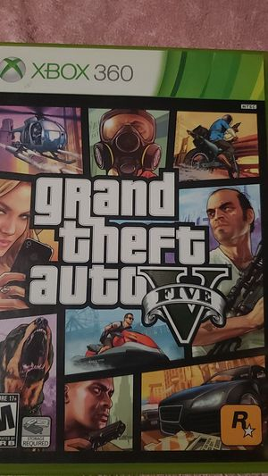 Xbox 360 grand theft auto 5 for Sale in Buffalo, NY