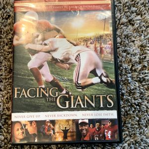 Facing The Giants DVD for Sale in Suffolk, VA