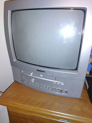Small TV with DVD player for Sale in Brighton, CO