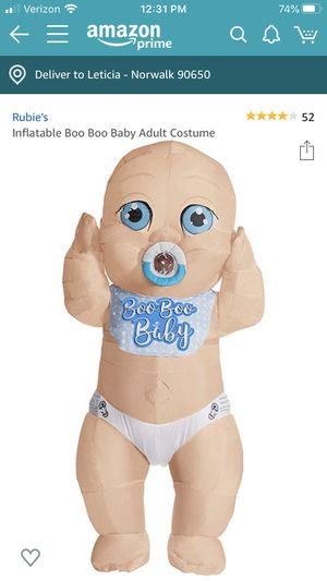 Inflatable baby boy costume for Sale in Norwalk, CA