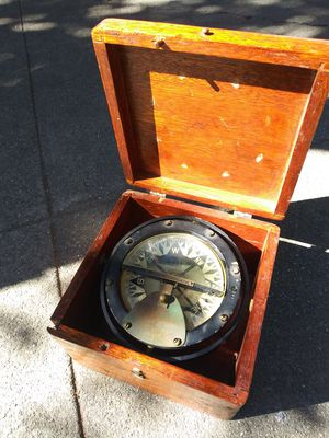Antique Seattle Instrumets Nautical Compass for Sale in San Francisco, CA