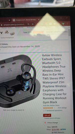 Wireless headphone for Sale in Palm Harbor, FL