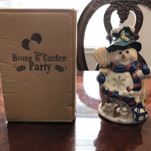Snowman Candle Holder for Sale in Alvarado, TX