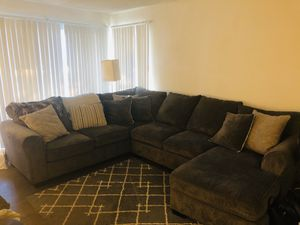 Grey Sectional Couch for Sale in San Diego, CA