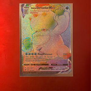 Galarian Darmunitan Vmax Rainbow Rare Pokemon Card for Sale in Riverside, CA