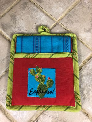 Pot holder/dish towel for Sale in Glendale, AZ